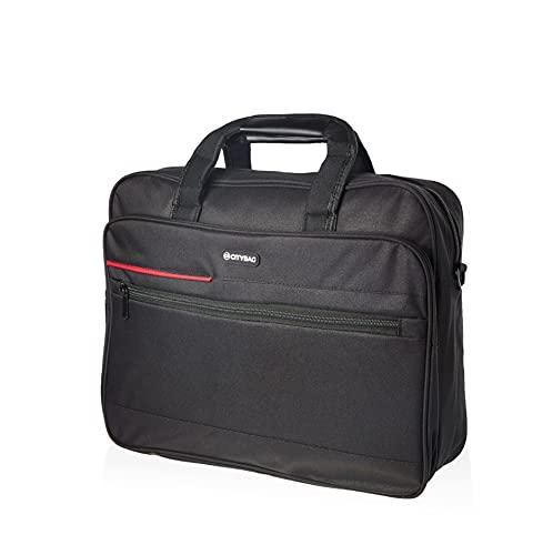 Borsa per computer portatile da 15,6', borsa a tracolla per computer portatile, borsa a tracolla per computer portatile, borsa da viaggio compatta