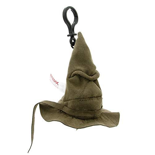 Harry Potter Maxx13044 Sprechender Hut 10 cm, Schlüsselanhänger, braun