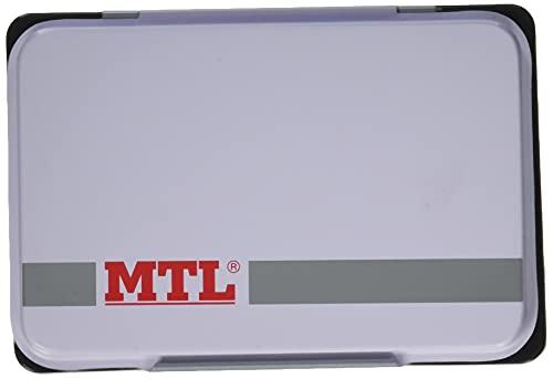 MTL 79532 - Tampón metálico de sellar, 109 x70 mm, color negro