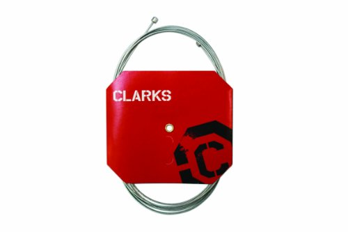 Clarks Tandem Bremskabel hinten, 305 cm, silberfarben/Rot