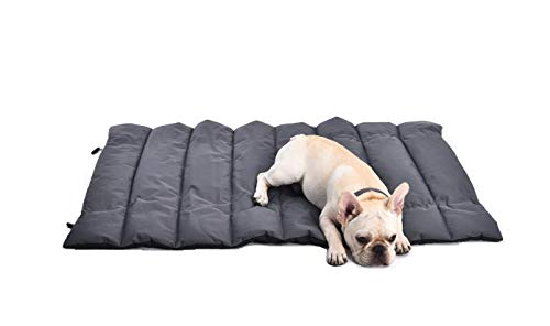 Petspective Pet Mat – Portable Bed for Small Dogs Medium Dogs– Thick, Soft, and Comfortable Pet Sleeping Pad - Waterproof and Easy to Clean - Outdoor Camping Fireside Large Dog Mat - 40'' x 27''