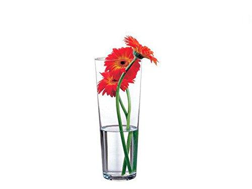 Pasabahce 43177 Flora Vase en verre élégant haut intemporel Hauteur 26 cm