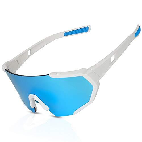 XITANG Gafas de ciclismo que cambian de color para hombre y mujer, gafas de sol cortavientos para bicicletas de deportes al aire libre (1 unidad)