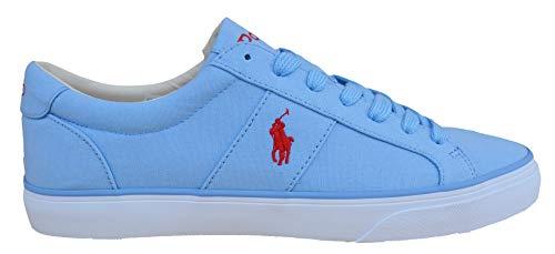 Ralph Lauren Sneakers da uomo Spiring NE azzurro blu canvas, Blu (Blu), 42 EU