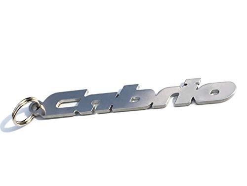 Cabrio emblème porte-clés en acier inoxydable de haute qualité