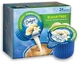 International Delight - Sugar Free French Vanilla Non Dairy Creamer, 24 Count Creamer Singles