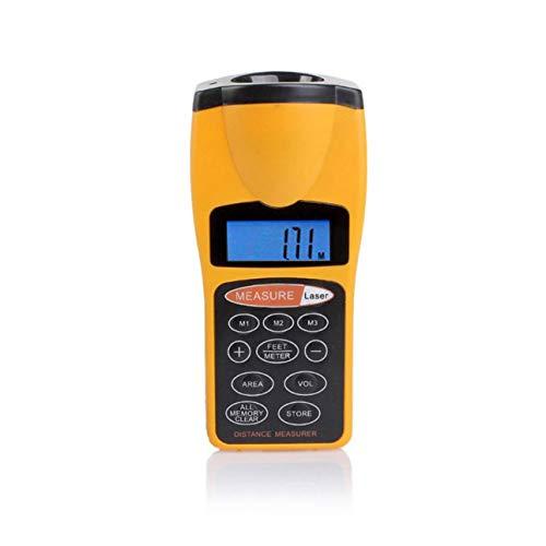 Ba30DEllylelly CP-3007 Misuratore di Distanza LCD Multifunzionale Misuratore di Distanza a ultrasuoni Misuratore di Distanza con puntatore Laser Casa USA telemetro Digitale