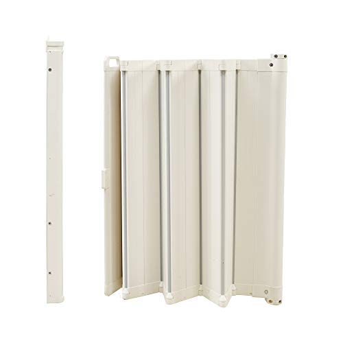 BabyDan 60214-2400-12-75 Guard Me Auto Retractable Safety Guard White - Fits Opening 55cm - 89cm