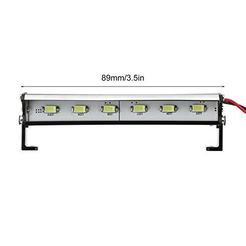 Auto Zubehör RC-Auto-LED-Lichtleiste für T, R, A, X, X, A, S 1/16 Teton/Gipfel/E-Revo Redcat RC Rock Crawler LKW...