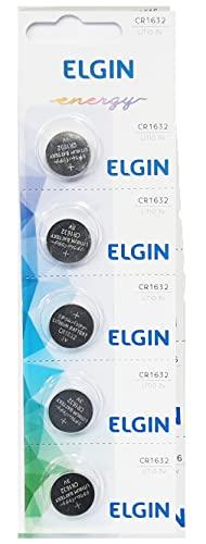 Bateria Elgin Cr1632 3v Lítio Cartela Com 5 1632
