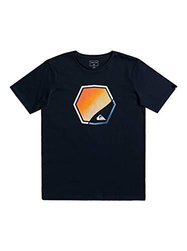Quiksilver Jungen Fading Out T-Shirt, Opacity, Navy Blazer, XL/16