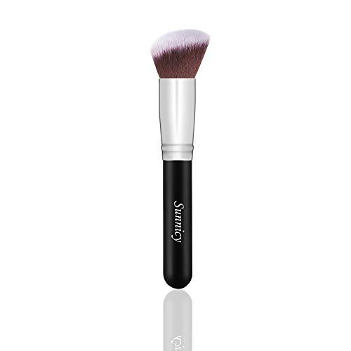 Pinceau Kabuki Bronzer Kabush Blush Parfait pour les contours du visage et la mise en valeur des crèmes et des poudres