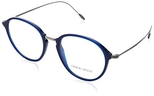 Armani Herren 0AR7148 Brillengestell, blau (Matte Blue), 51