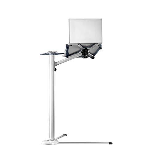 LBYMYB Soporte para ordenador portátil perezoso soporte de elevación de la cama Soporte de piso de plata 71x60x89cm portátil refrigerador