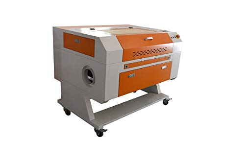60W CO2 Laser Graviermaschine 700x500mm with Rotary Axis + CW3000 hot