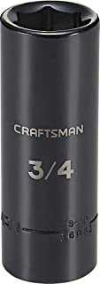 CRAFTSMAN Deep Impact Socket, SAE, 1/2-Inch Drive, 3/4-Inch (CMMT16061)