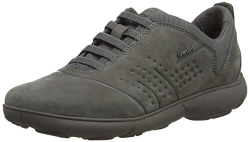 Geox Damen D Nebula D Sneaker, Grau (Dk Grey C9002), 41 EU