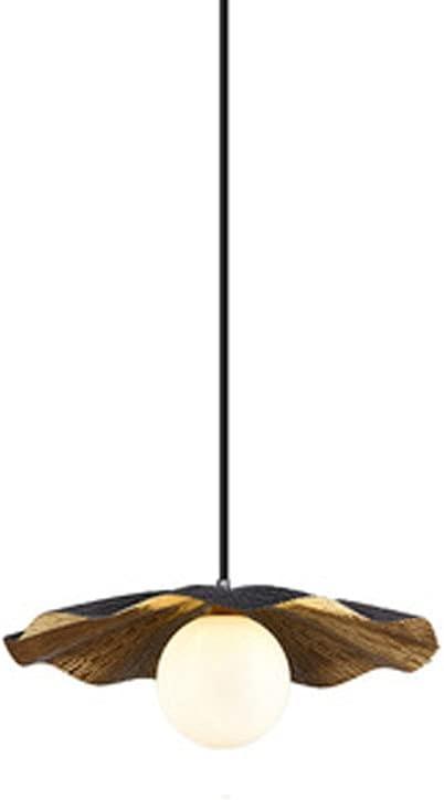 Ranking TOP13 NAMFMSQ G9 Omaha Mall Pendent Lamp Retro American Single Brass Head Met H65
