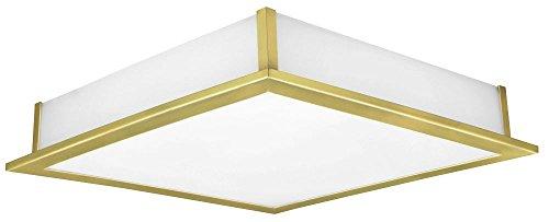 Deckenleuchte Deckenlampe Beleuchtung Messing matt Glas weiß Leuchte Eglo Auriga 89455