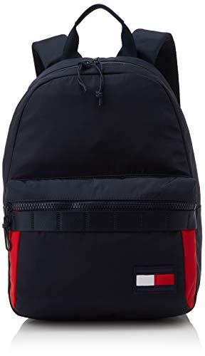 Tommy Hilfiger Herren Tommy Backpack Schultertasche, Mehrfarbig (Corporate), 20x44x32 centimeters