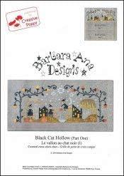 Black Cat Hollow Wholesale Part gift Cross Pattern One Stitch