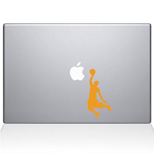 Adesivo de vinil The Decal Guru Slam Dunk MacBook – MacBook Pro de 13 polegadas (2016 e mais recente) – Amarelo (1173-MAC-13X-SY)
