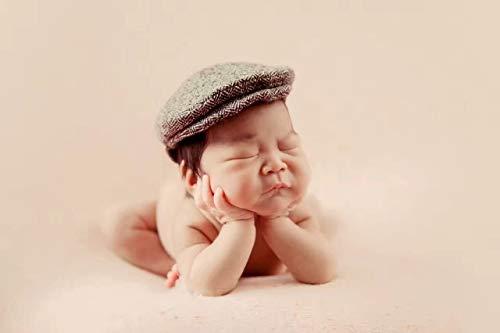 Juliyan0~1か月ニューボーンフォト帽子蝶結びネクタイ綿新生児マタニティ写真撮影服装寝相アート出産祝いプレゼント