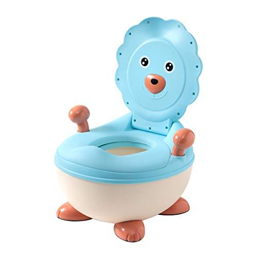 Apprentissage de la propreté Toilette pour Enfants Toilette pour Fille Toilette Enfant Enfant Bébé 1-3-6 Ans Fille Potty Mâle Urinoir Doux Super Confortable (Couleur : Bleu)