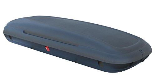 Dachbox VDP-CA480 schwarz Dachkoffer 480 Liter Autokoffer Carbon Look abschließbar