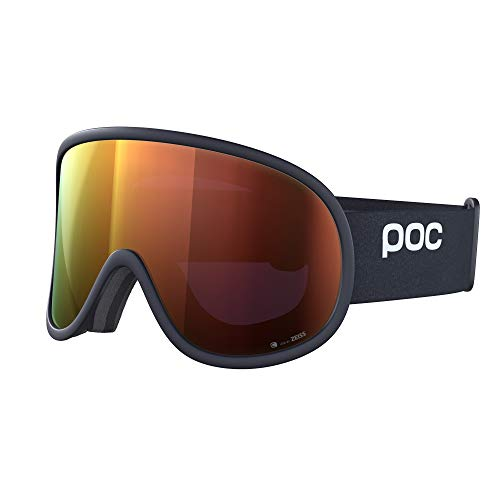 POC Retina Big Clarity, Uranium Black/Spektris Orange, ONE Size