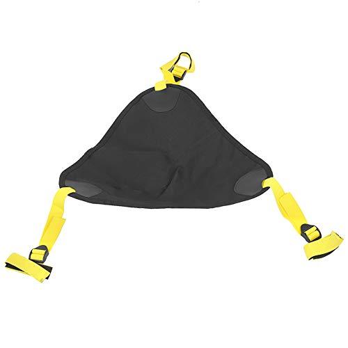 Keenso fotografischer Sandsack, für leichte Ständer Boom Arms Stative, stabilisieren Traversen Totems, Sockel, Stativständer, tragender Sandsack, Beleuchtungsausrüstung(Balck)