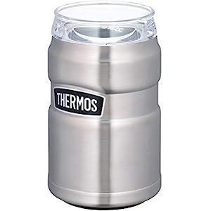 サーモス アウトドアシリーズ 保冷缶ホルダー ステンレス 350ml缶用 2wayタイプ ROD-002 S