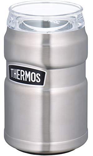 サーモス 保冷缶ホルダー ステンレス 350ml用 ROD-002 S