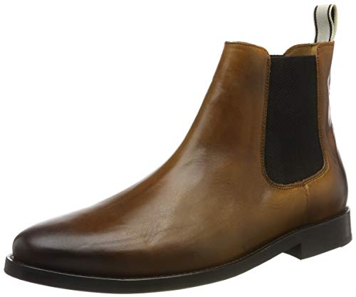 GANT Footwear Herren MAX Chelsea Boots, Braun (Cognac G45), 45 EU