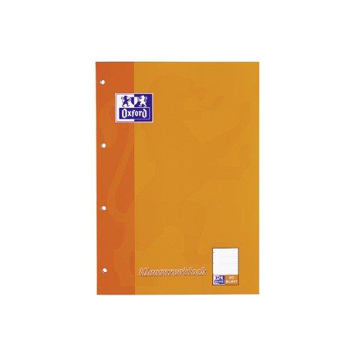 Oxford Klausurenblock, DIN A4, 50 Blatt, liniert VE = 1