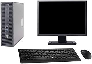 HP PC 600 G2 SFF Display 22 inch Intel G4400 RAM 16 GB harde schijf 1 TB Windows 10 WiFi (Refurbished)