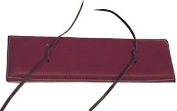 leather strapping pad horse