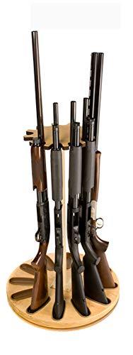 12 Gun Rotary Gun Storage Rack (Light Oak)