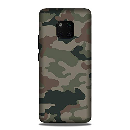 Abaci Printed Cover for Huawei Mate 20 Pro [Hard Plastic case] [Printed Cover for Girls & Boys] [Army]