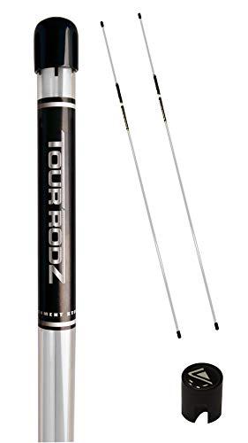 Longridge Tour Rodz Alignment Sticks Golf Practice Aid – White