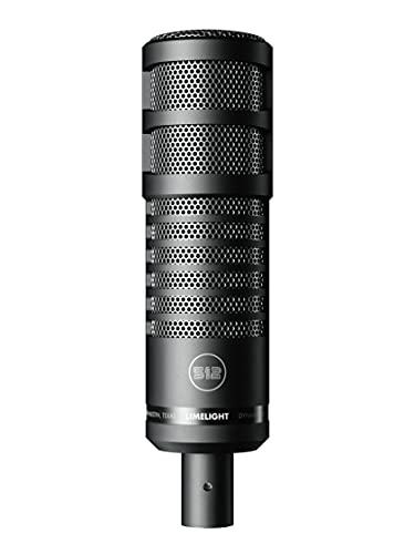 512 Audio 512-LLT Limelight - Dynamisches XLR Gesangsmikrofon Entwickelt für Podcasting, Rundfunk und Streaming
