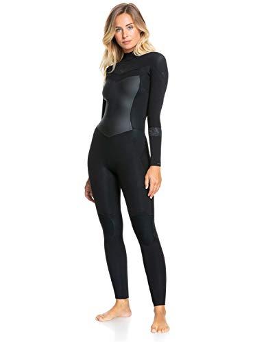 Roxy Women's 3/2mm Syncro-Back Zip Wetsuit One Piece Swimsuit, Black/Jet...