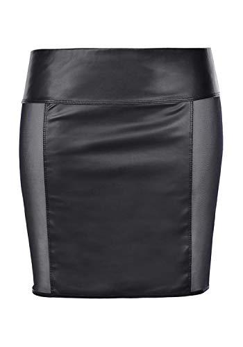 Axami M467 - Mini falda de tul para mujer Negro XL