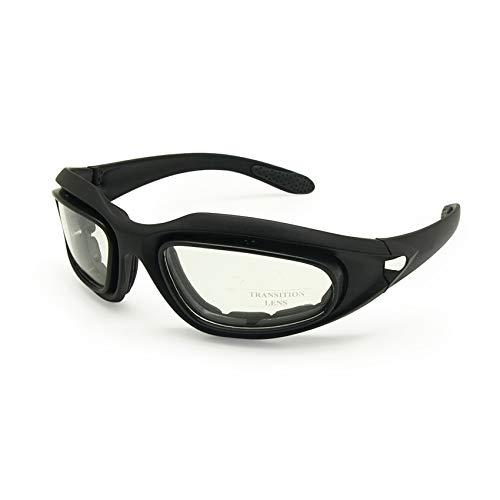 EnzoDate Militär Dirt Bike ATV Brille Polarisierte 4 Objektiv Kit Outdoor Sports Motorrad Brille War Game Army Sonnenbrille