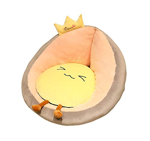 LJWLZFVT Cojín Tapizado de Asiento Tatami futon cushionCojín de SillaInicio Sala de Estar sofá Silla Piso Sentado en el Suelo Perezoso Sentado -Corona 45x45x35cm