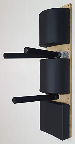 Wooden Dummy Alternativ/Wing Chun Kung Fu / 2 x media rollo + almohadilla de golpeo