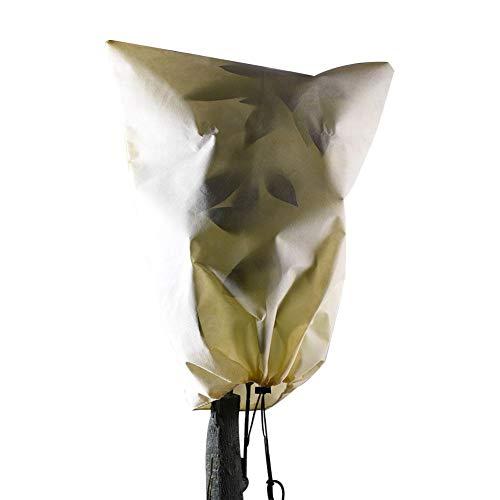 Ritapreaty Housse de protection pour plantes d'extérieur, sac de protection pour plantes d'hiver, sac non tissé, housse pour arbre