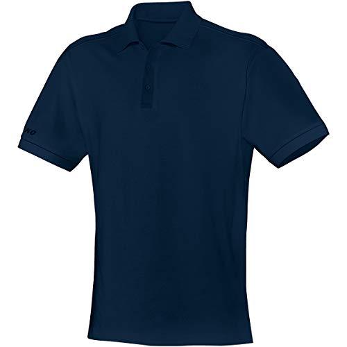 JAKO Polo Team pour Homme, Bleu Marine, 5XL