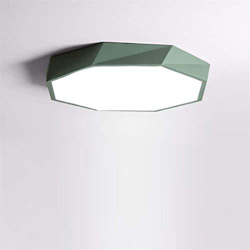 Thumby plafondlamp plafond lampen Scandinavische stijl groene studie kamer lamp led nieuwe creatieve vreemde persoonlijkheid geometrische lamp slaapkamer smeedijzer huis eenvoudige kamer lamp