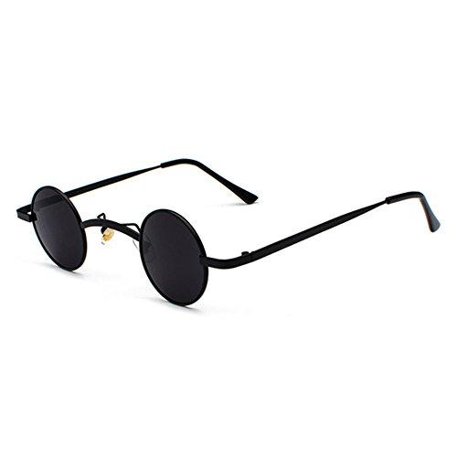 Unisex Sonnenbrille Punk Retro Kleine Runde Brille Street Rock Street Reise Brille Neue Stil Trend